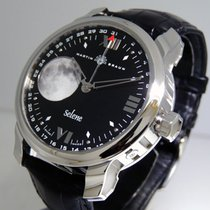 Martin Braun Steel Automatic Black 44mm pre-owned