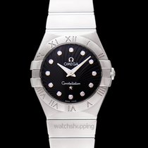 Omega Constellation Quartz Steel 27mm Black United States of America, California, San Mateo