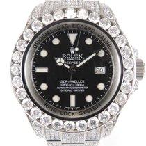 Rolex Deepsea 116660 Full diamonds Custom Full set