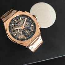 Zenith Rose gold 44mm Automatic 18.9000.9004/71.M9000 new