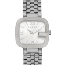 Gucci G-Gucci Stainless Steel Quartz Ladies Watch YA125517