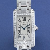 Cartier Tank Américaine pre-owned White gold