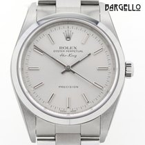 Rolex Air King Precision neu 2001 Automatik Uhr mit Original-Box 14000M