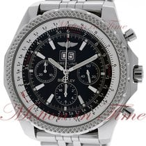 Breitling Bentley 6.75 Steel 48.7mm Black No numerals United States of America, New York, New York