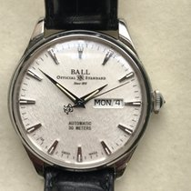 Ball Trainmaster Eternity Steel 39.5mm White No numerals United States of America, Massachusetts, Boston