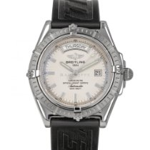 Breitling Headwind Steel 43.7mm Silver No numerals United States of America, Maryland, Baltimore, MD