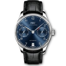 IWC Portuguese Automatic Steel 42.3mm Blue Arabic numerals UAE, Dubai