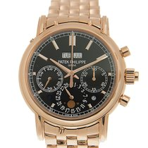 Patek Philippe 5204/1R-001 Rose gold Perpetual Calendar Chronograph new