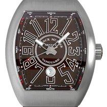 Franck Muller Steel Automatic Brown Arabic numerals 53.7mm new Vanguard