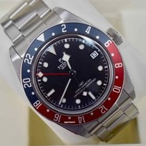 Tudor Black Bay GMT Сталь 41mm Чёрный Без цифр