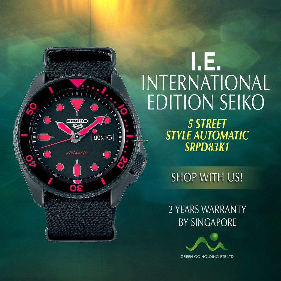 International Automatic Style Edition Seiko 5 Street Srpd83k1 dChQsrt