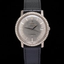 Omega White gold Automatic 35mm pre-owned Constellation