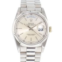 Rolex Day-Date 36 18239 Very good White gold 36mm Automatic