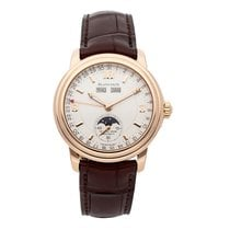 Blancpain Léman Moonphase Rose gold 38mm Silver Arabic numerals United States of America, Pennsylvania, Bala Cynwyd