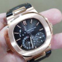 Patek Philippe Nautilus Rose gold 40mm Grey No numerals Malaysia, Kuala Lumpur