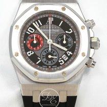 Audemars Piguet Royal Oak Chronograph Staal 39mm Zwart
