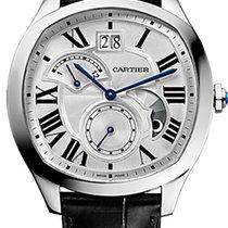 Cartier Drive de Cartier Steel 40mm Silver Roman numerals United Kingdom, London