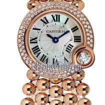 Cartier Ballon Blanc Złoto różowe 24mm Masa perłowa