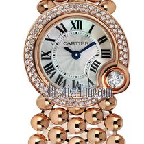 Cartier Ballon Blanc Oro rosado 24mm Madreperla