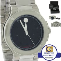 Movado SE Extreme Mens Automatic 44mm Stainless Steel Watch...