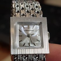 Longines Art Deco Ultra Rare White Gold
