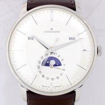 Junghans Meister Kalender Dresswatch Klassiker zeitlos white...