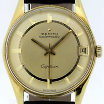 Zenith Or jaune Remontage automatique Or 33.5mm occasion Captain