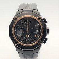 Baume & Mercier Riviera rose gold PVD chronograph