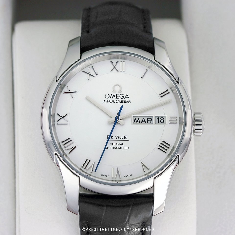 9c8ef519fb90 Pre-owned Omega De Ville Co-Axial