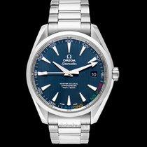 Omega Steel Automatic Blue new Seamaster Aqua Terra