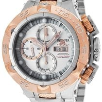 Invicta Chronograph 50mm Automatic new Silver