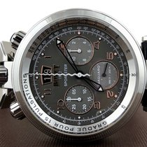 Bovet Sportster Steel 46mm Grey United States of America, New Jersey, Englewood