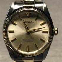 Rolex Oyster Perpetual 34 Acero y oro 34mm Plata Sin cifras España, Madrid
