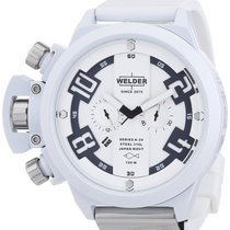 Welder by U-Boat K24 Oversize Chronograph White Ion-Plated...