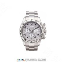 Rolex White gold Automatic Silver Arabic numerals 40mm new Daytona