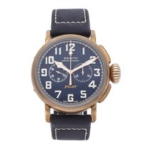 Zenith Pilot Type 20 Extra Special Bronze 45mm Blue Arabic numerals United States of America, Pennsylvania, Bala Cynwyd