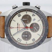 Montblanc Timewalker Acero 43mm Champán Árabes