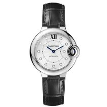 Cartier Ballon Bleu 33mm new Automatic Watch with original box and original papers W4BB0009