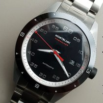 Montblanc Timewalker 116060 Montblanc TimeWalker Data Automatico Nero Acciaio new