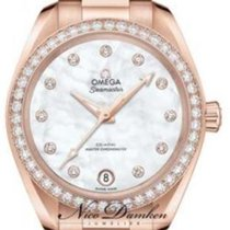 Omega Seamaster Aqua Terra Red gold Mother of pearl