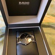 Rado pre-owned Quartz 28mm Black Sapphire Glass 3 ATM