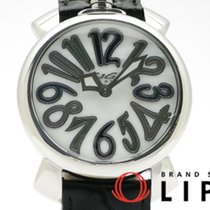 Gaga Milano pre-owned Quartz 40mm White