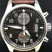 IWC Pilot Spitfire Chronograph Acier 43mm Gris Arabes