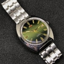 Orient Steel 36mm Automatic Os305 new