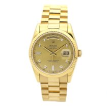 Rolex Day-Date 36 pre-owned 36mm Gold Date Yellow gold
