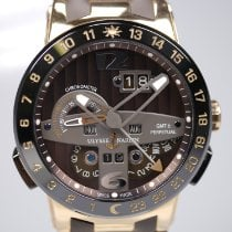 Ulysse Nardin Rose gold Automatic Brown Arabic numerals 43mm pre-owned El Toro / Black Toro