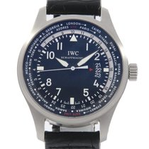 IWC Pilot Worldtimer 45mm Černá