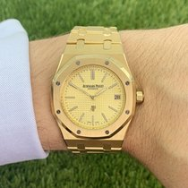 Audemars Piguet Royal Oak Jumbo Gelbgold 39mm Gold