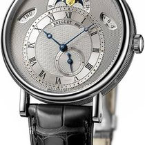 Breguet White gold 39mm Automatic 7337bb/1e/9v6 pre-owned