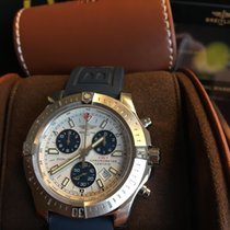 Breitling Colt Chronograph Stahl 44mm Silber